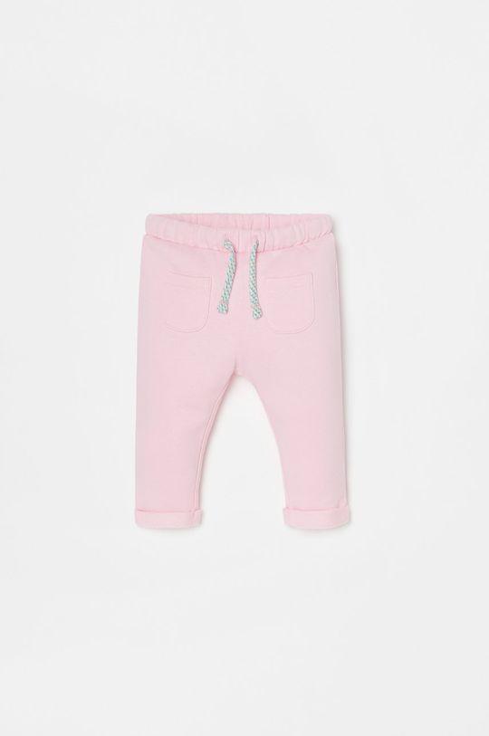 różowy OVS - Spodnie dziecięce Dziewczęcy