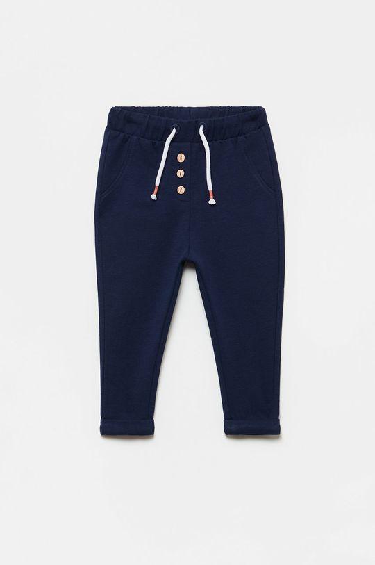 granatowy OVS - Spodnie dziecięce Dziewczęcy