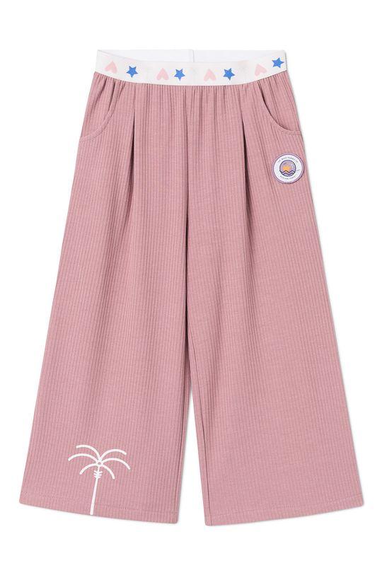 różowy Femi Stories - Spodnie dziecięce Darby 116-158 cm Dziewczęcy