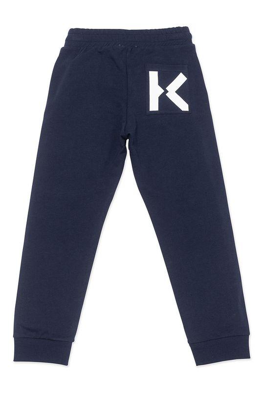KENZO KIDS - Dětské kalhoty námořnická modř