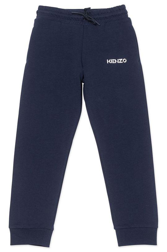 námořnická modř KENZO KIDS - Dětské kalhoty Dívčí