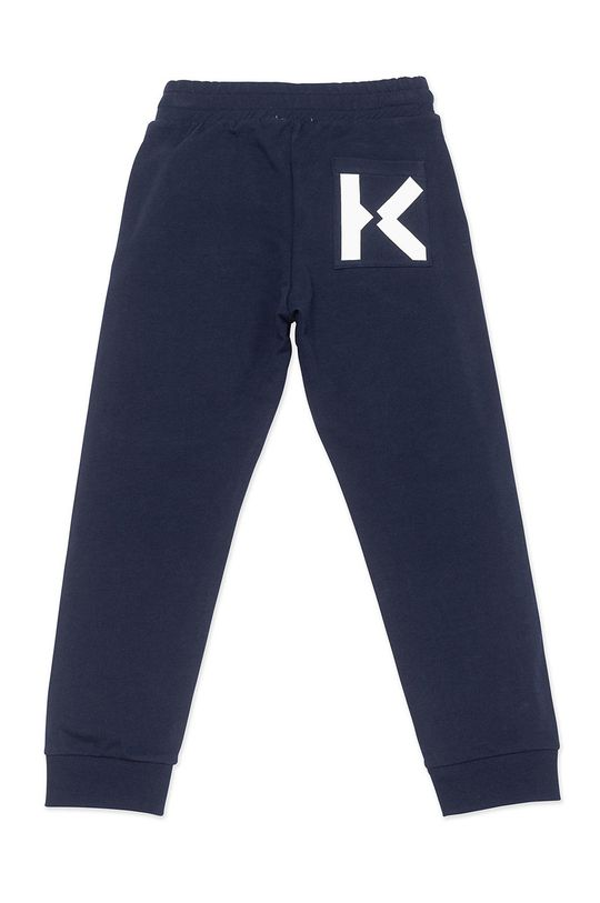 KENZO KIDS - Spodnie dziecięce granatowy