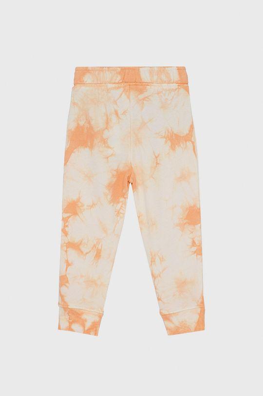 GAP - Spodnie dziecięce jasny pomarańczowy