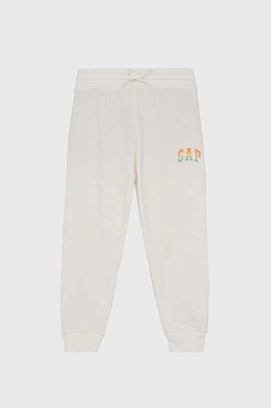 biały GAP - Spodnie dziecięce Dziewczęcy