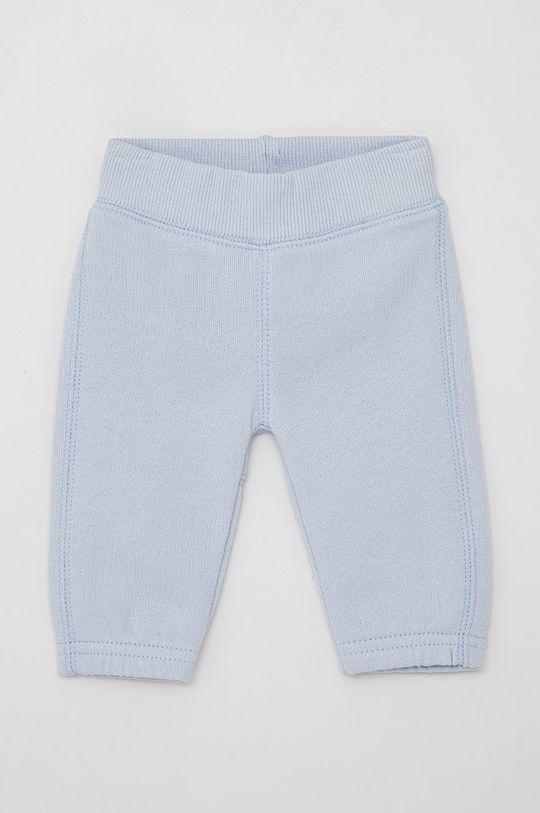 světle modrá United Colors of Benetton - Dětské kalhoty Dětský