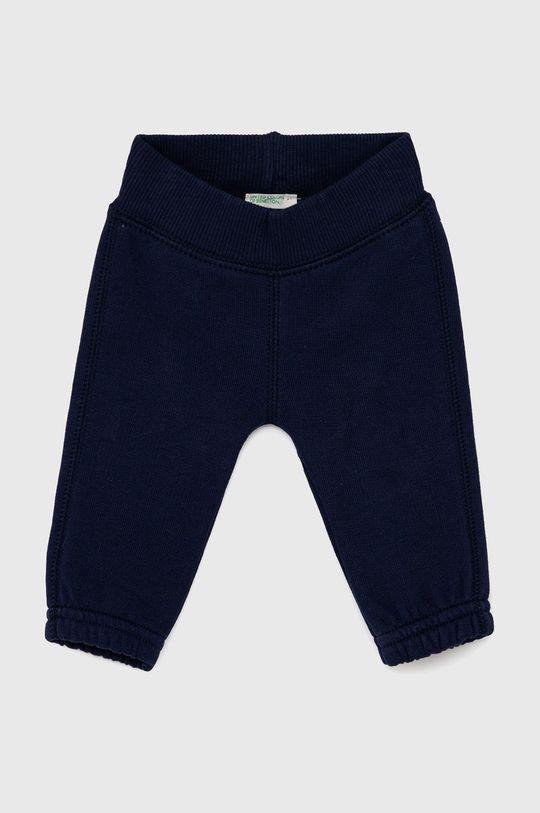 námořnická modř United Colors of Benetton - Dětské kalhoty Dětský