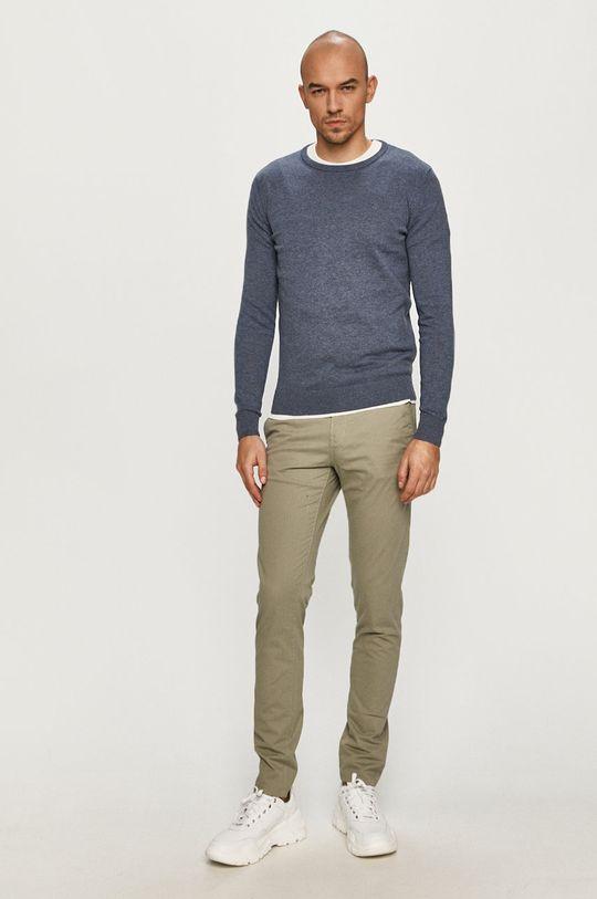 Tom Tailor - Kalhoty šedá