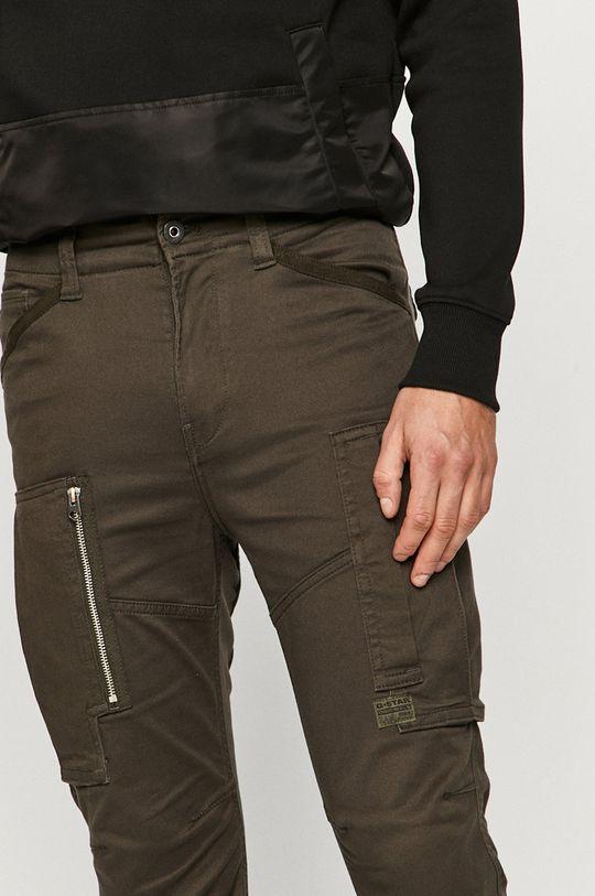 tmavě zelená G-Star Raw - Kalhoty