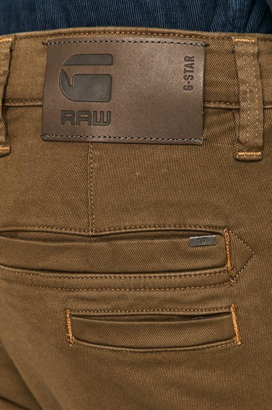 olivová G-Star Raw - Kalhoty