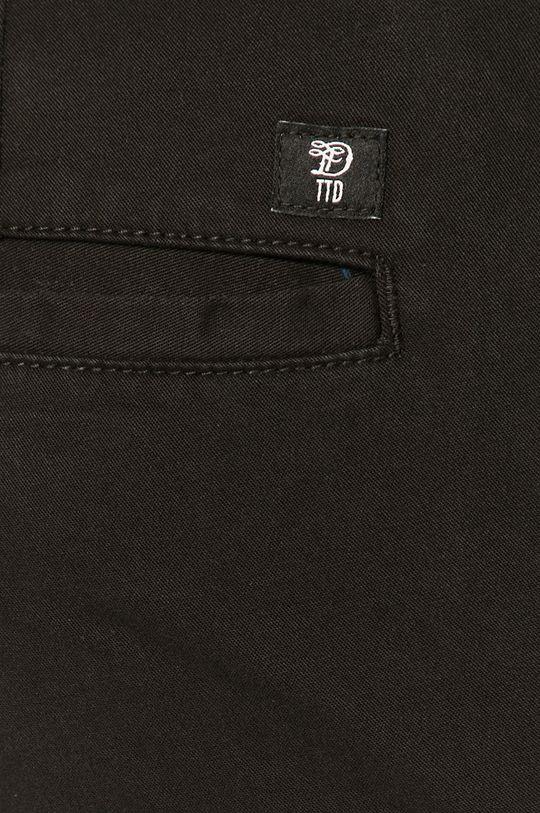 czarny Tom Tailor - Spodnie