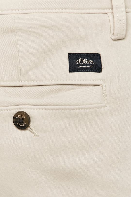 beżowy s. Oliver - Spodnie