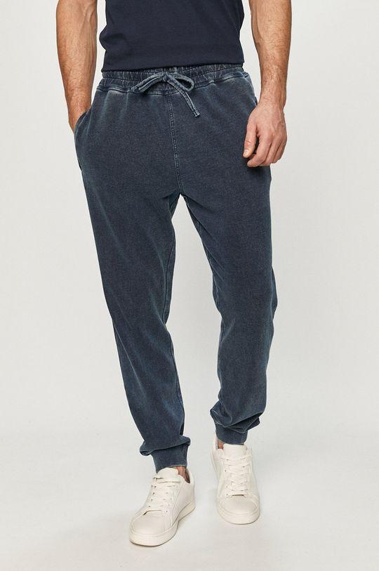 modrá Guess - Kalhoty Pánský