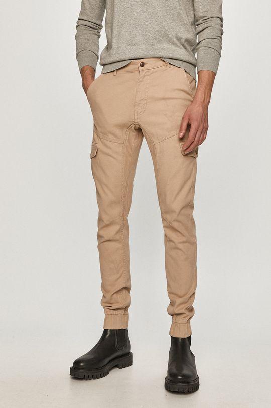 béžová Guess - Kalhoty Pánský