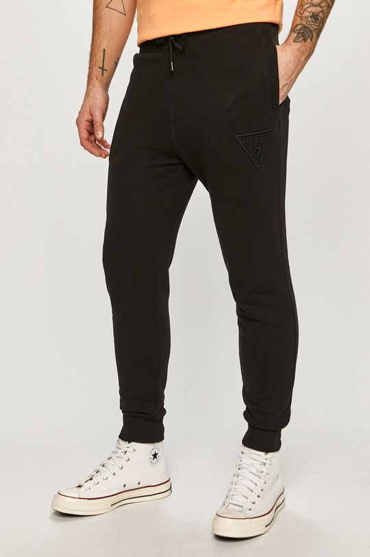 negru Guess - Pantaloni De bărbați