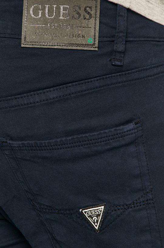 granatowy Guess - Spodnie