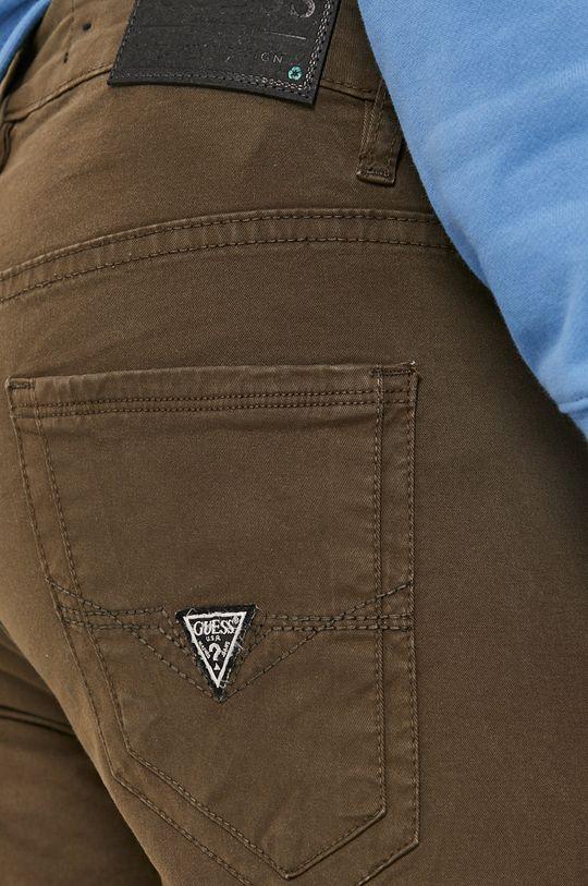 oliwkowy Guess - Spodnie