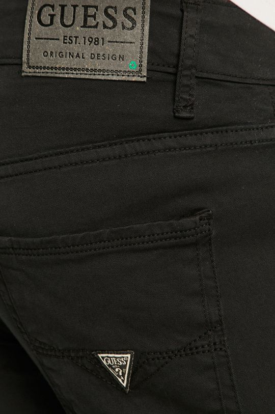 Guess - Spodnie Podszewka: 100 % Bawełna, Materiał zasadniczy: 98 % Bawełna, 2 % Elastan