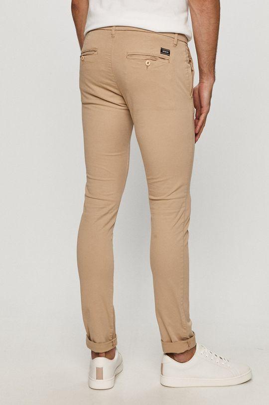 Guess - Spodnie Materiał zasadniczy: 98 % Bawełna, 2 % Elastan, Podszewka kieszeni: 100 % Bawełna