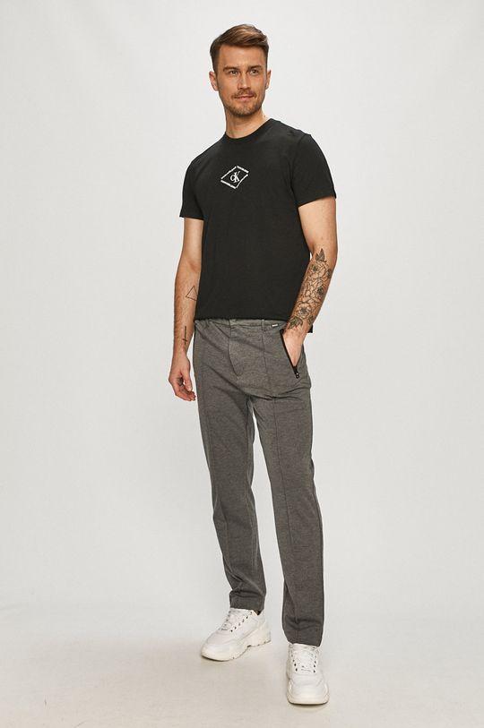 Calvin Klein - Kalhoty šedá