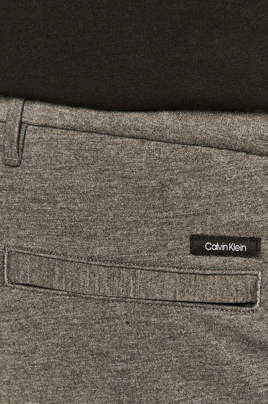 šedá Calvin Klein - Kalhoty