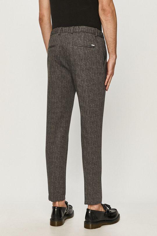 Calvin Klein - Spodnie Materiał 1: 4 % Elastan, 78 % Poliester, 18 % Wiskoza, Podszewka kieszeni: 35 % Bawełna, 65 % Poliester