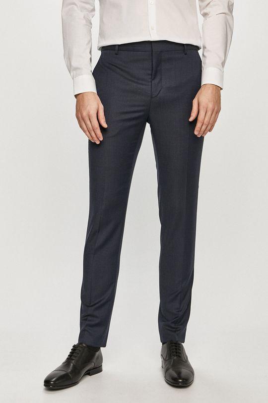 granatowy Calvin Klein - Spodnie Męski