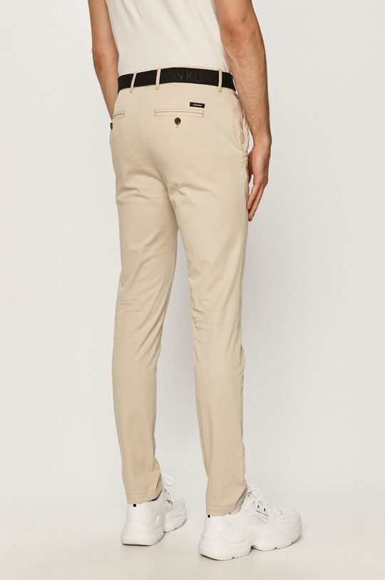 Calvin Klein - Spodnie 96 % Bawełna, 4 % Elastan