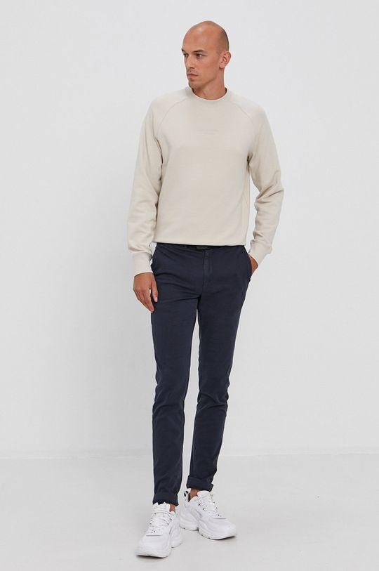 Calvin Klein - Nohavice tmavomodrá