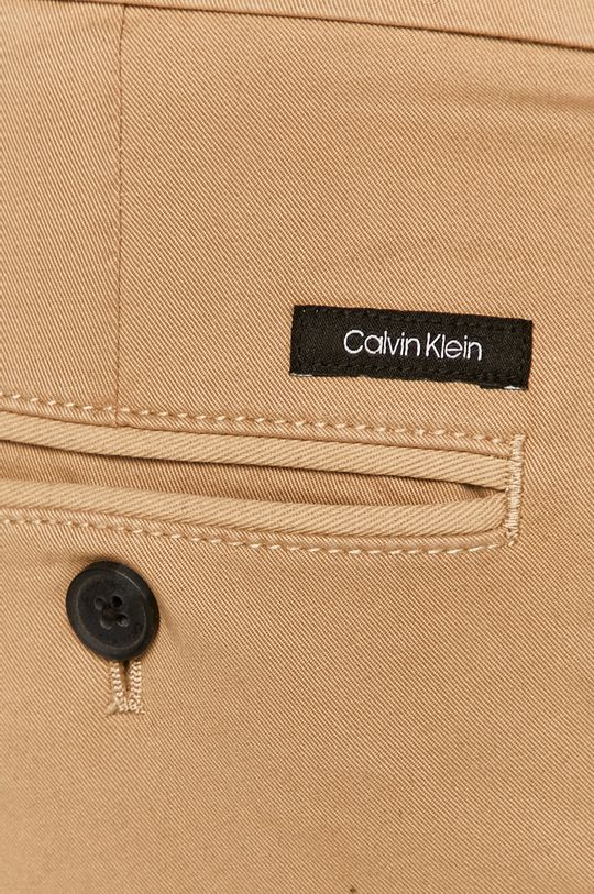 beżowy Calvin Klein - Spodnie