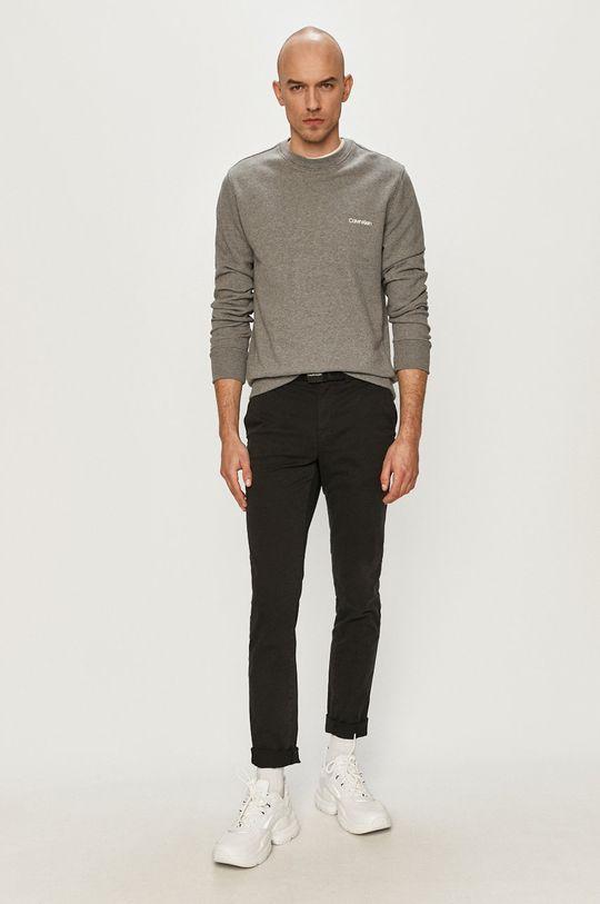Calvin Klein - Nohavice čierna