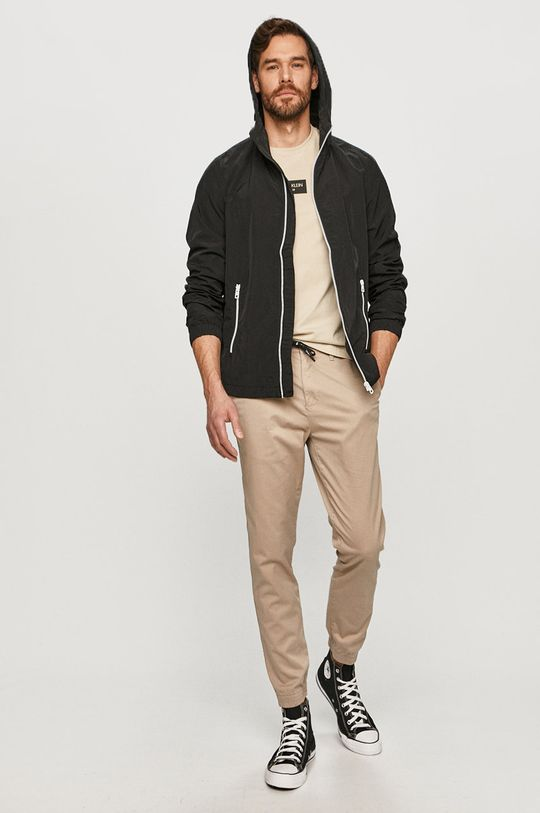 Calvin Klein Jeans - Spodnie piaskowy