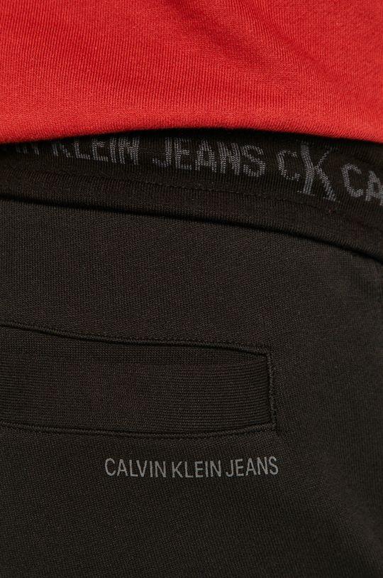 negru Calvin Klein Jeans - Pantaloni