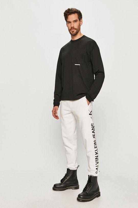 Calvin Klein Jeans - Pantaloni alb