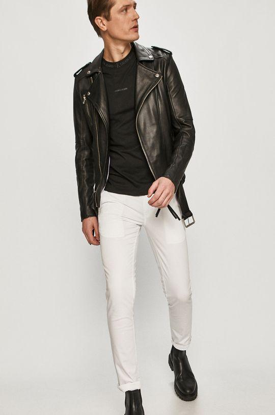 bílá Calvin Klein Jeans - Kalhoty Pánský