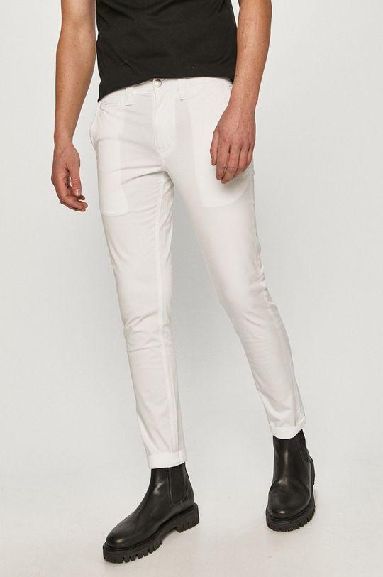 Calvin Klein Jeans - Kalhoty bílá