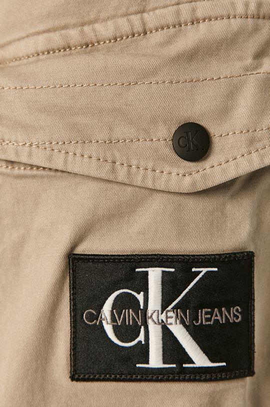 piaskowy Calvin Klein Jeans - Spodnie