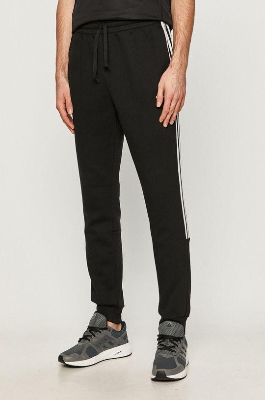 čierna adidas - Nohavice Pánsky
