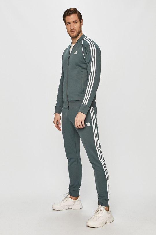 adidas Originals - Spodnie stalowy niebieski