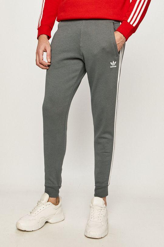 stalowy niebieski adidas Originals - Spodnie Męski