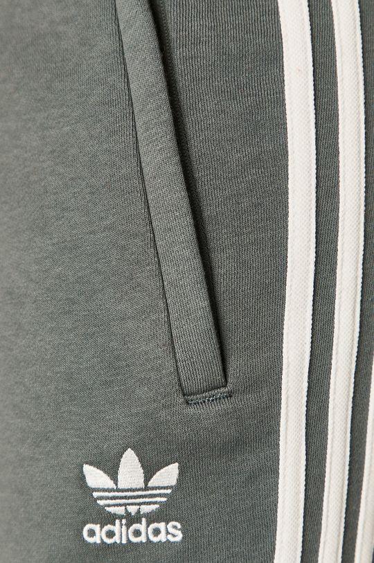 stalowy niebieski adidas Originals - Spodnie