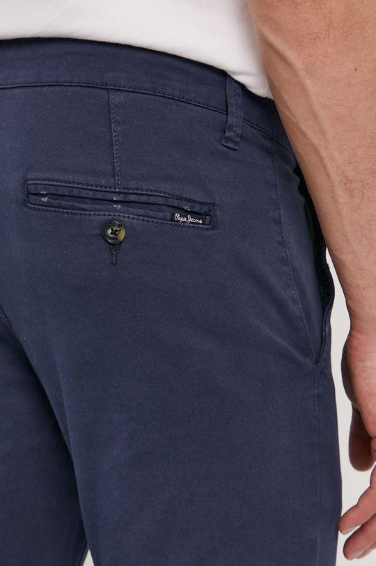 námořnická modř Pepe Jeans - Kalhoty Charly