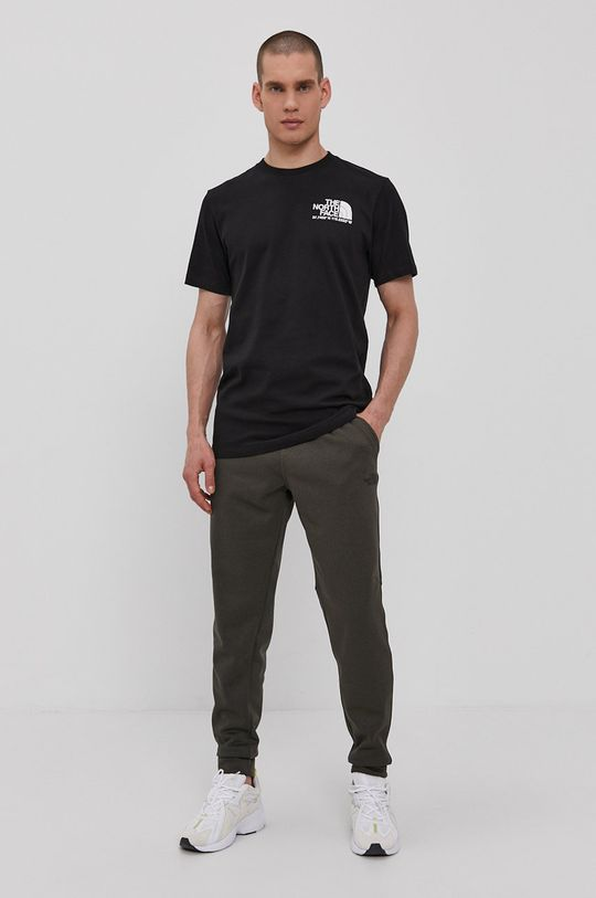 The North Face - Spodnie oliwkowy