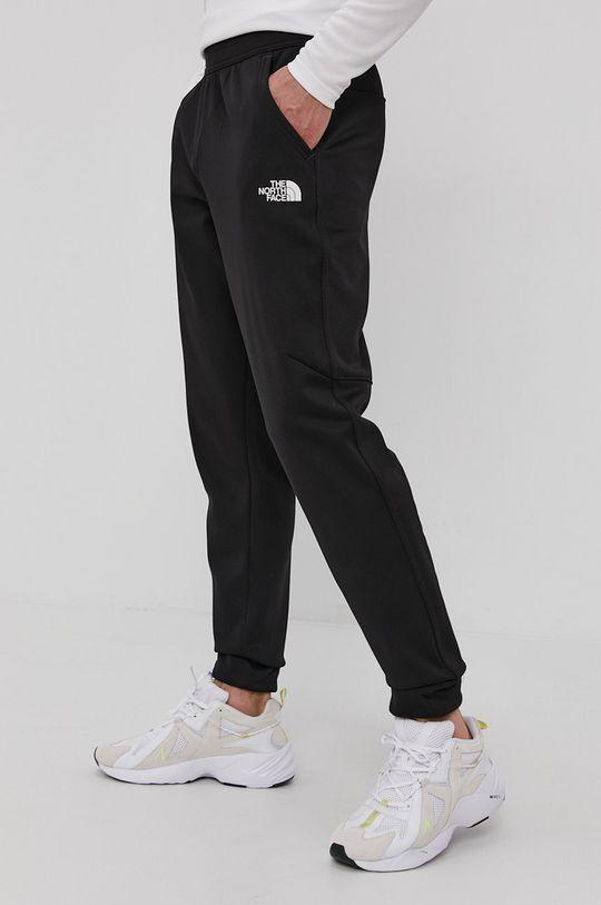 czarny The North Face - Spodnie Męski