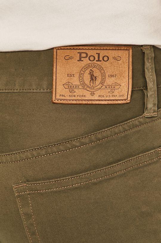 olivová Polo Ralph Lauren - Kalhoty