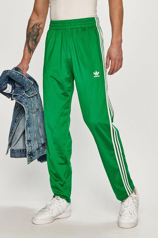 zelená adidas Originals - Kalhoty Pánský