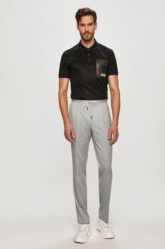 Hugo - Pantaloni albastru deschis