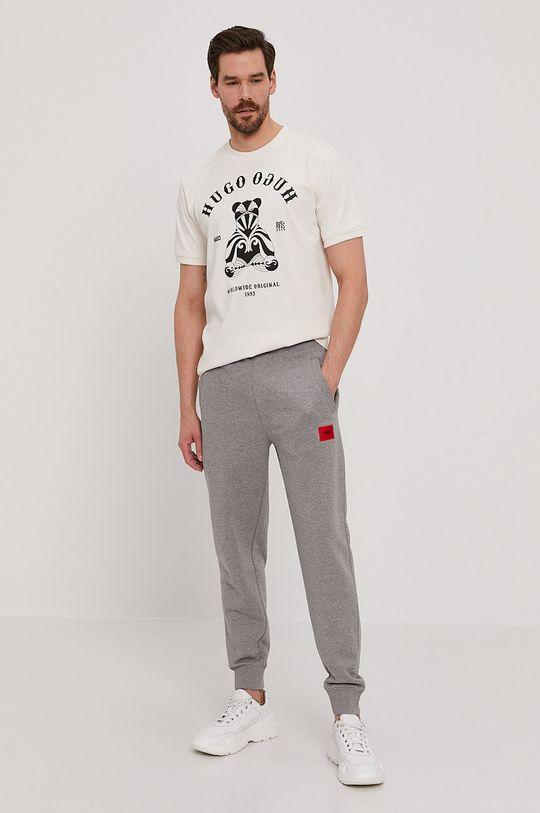 Hugo - Spodnie jasny szary