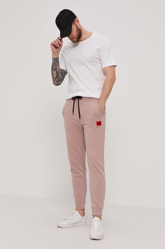 HUGO - Spodnie 50447963 beżowy