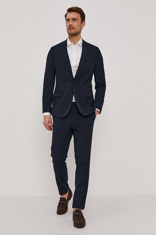 Hugo - Pantaloni bleumarin