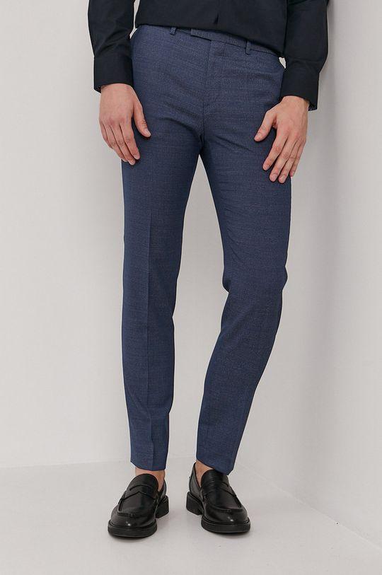 niebieski Hugo - Spodnie Męski
